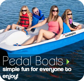 Paddle Boats - Aqua Splash, safe fun in the water for all the family