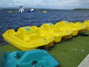 Try our Pedal Boats